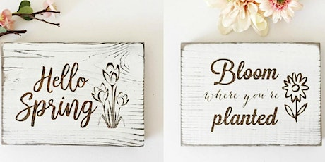 Rustic Lane Spring Sign Making Workshop tickets