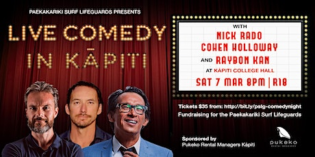 Paekakariki Surf Lifeguards Comedy Night tickets