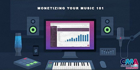 Monetizing Your Music 101 tickets