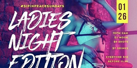 Peace Sunday's tickets