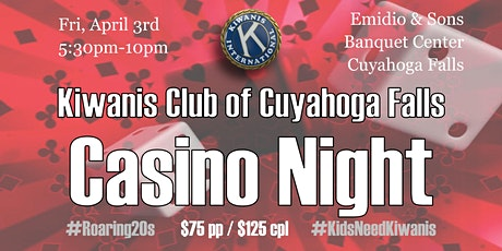 Casino Night 2020 - Kiwanis Community Fundraiser tickets