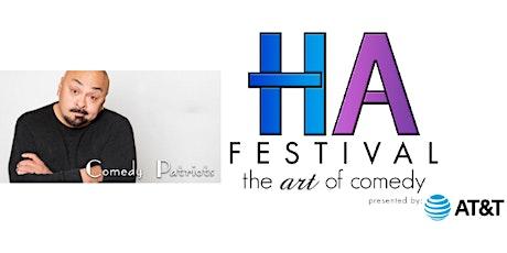 HA Comedy Festival - Comedy Patriots tickets