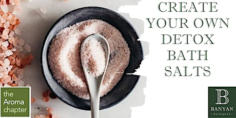 Make your Own Detox Bath Salts tickets