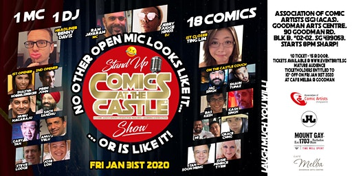 Stand Up Comics at the CASTLE