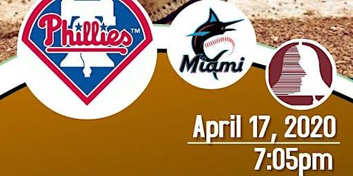 MHANJ Phunraiser Phillies vs. Marlins
