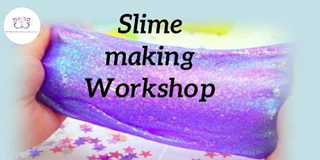Slime making workshop tickets