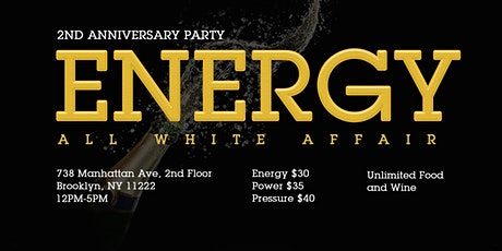 Energy: 2nd Anniversary Day Party tickets