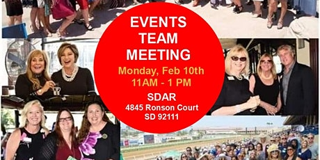 Event TEAM Meeting | Women's Council San Diego | Event TEAM Meeting tickets