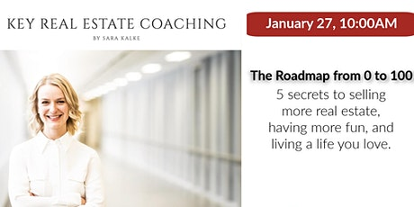 The Roadmap from 0 to 100  5 secrets to selling more Real Estate tickets