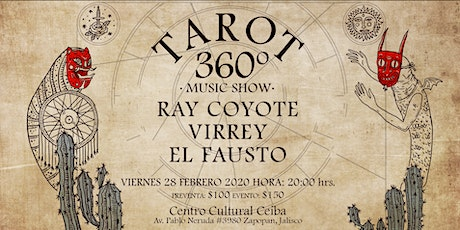 TAROT (360 grados Music Show) boletos