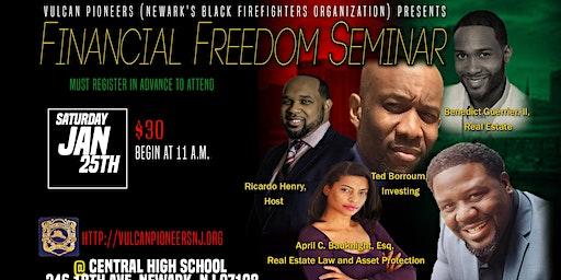 Financial  Freedom Seminar, January 25, 2020