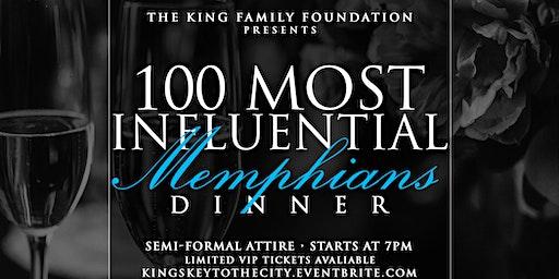 The 100 Most Influential Memphians Dinner