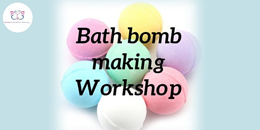 Bath bomb making workshop