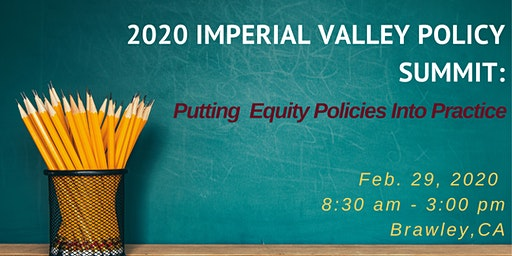 CLSBA Imperial Valley Regional Summit