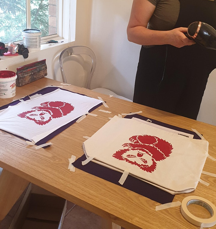 ANGRY KOALA screen printing, a bushfire fundraiser 4 The Rescue Collective image