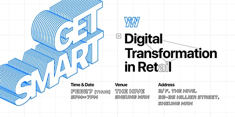 GET SMART | Digital Transformation in Retail tickets