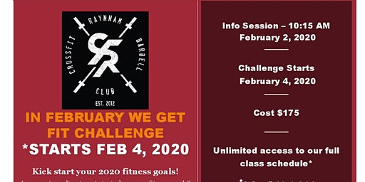 In February We Get Fit Challenge
