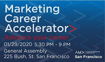 AMA SF Presents: The Marketing Career Accelerator