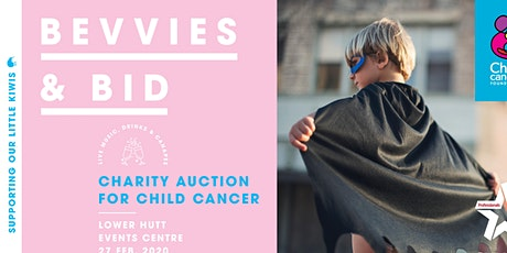 Bevvies & Bid Charity Auction for Child Cancer tickets