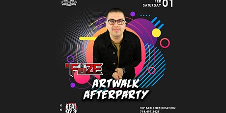ArtWalk AfterParty with Real 92.3 DJ Fuze tickets