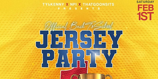 PLAYER ONE JERSEY PARTY