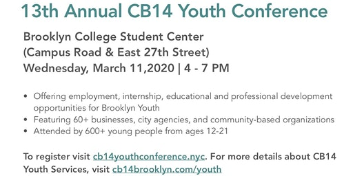 13th Annual CB14 Youth Conference