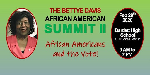 2020 Bettye Davis African American Summit II