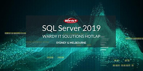 SQL Server 2019 Hotlap - Melbourne tickets