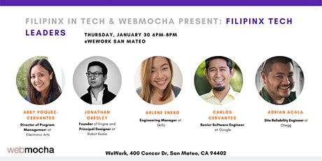 Filipinx in Tech Panel: Filipinx Tech Leaders  tickets