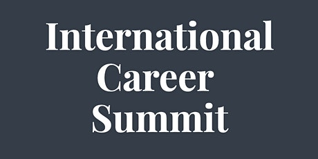 International Career Summit tickets