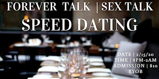 Forever Talk | Sex Talk Speed Dating