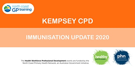 Kempsey CPD: Immunisation Update 2020 tickets