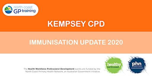 Kempsey CPD: Immunisation Update 2020