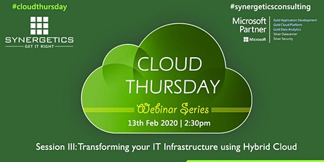 Transform your IT Infrastructure using Hybrid Cloud tickets