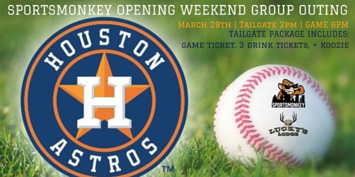 Sportsmonkey Opening Weekend Tailgate + Game Experience