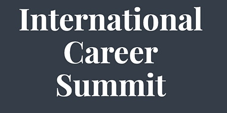 International Career Summit tickets