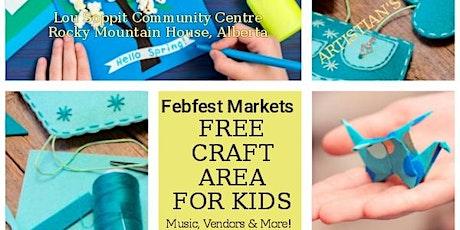 FEBFEST Markets Rocky Mountain House tickets