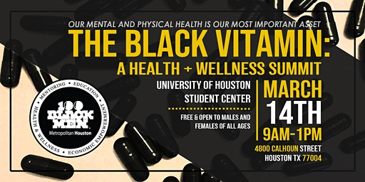The Black Vitamin: A Health + Wellness Summit 2020