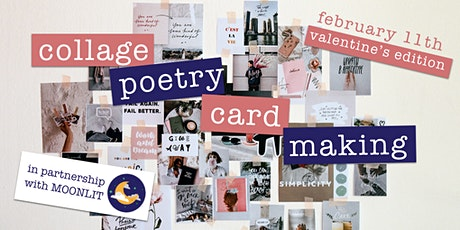 DC Writers' Salon: Collage Poetry Card Making, Valentine's Edition tickets