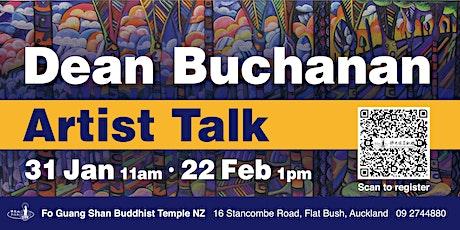 Artist Talk by Dean Buchanan tickets