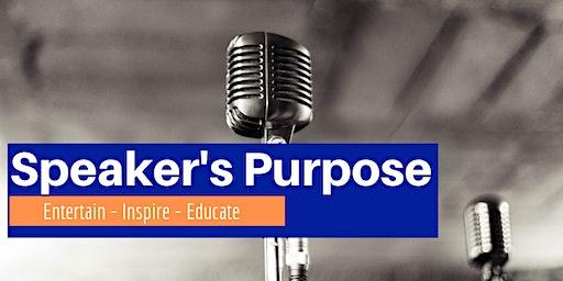 Speaker's Purpose