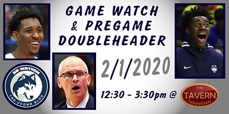 The UConn Blog Game Watch & Pregame Doubleheader tickets