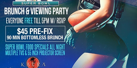 """""""The Kickoff"""" Super Bowl 54 Brunch & Viewing Party tickets"""