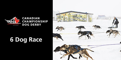 Canadian Championship Dog Derby, 6-dog race tickets