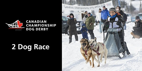 Canadian Championship Dog Derby 2-dog race tickets