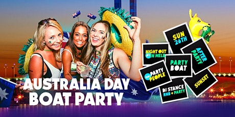 Australia Day Boat Party [Melbourne 2020] tickets