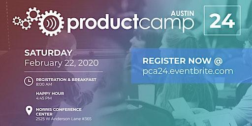ProductCamp Austin 24 (PCA24)