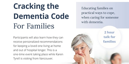 Cracking the Dementia Code – For Families