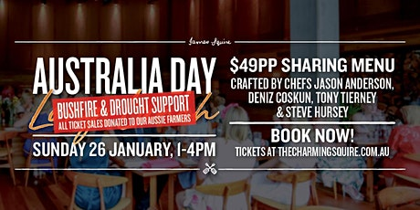 Australia Day Farmers Support Lunch tickets