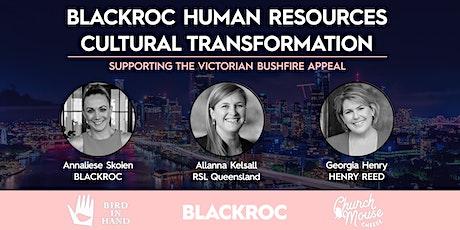 BLACKROC Human Resources | Cultural Transformation tickets